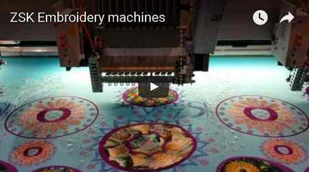 ZSK EMBROIDERY MACHINES
